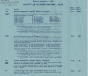 1956 rawlings price list
