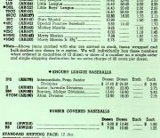 1961 distributor price list