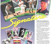 1992 series 2 signature Score ad