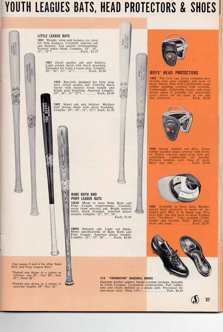 1958 spalding spring and summer