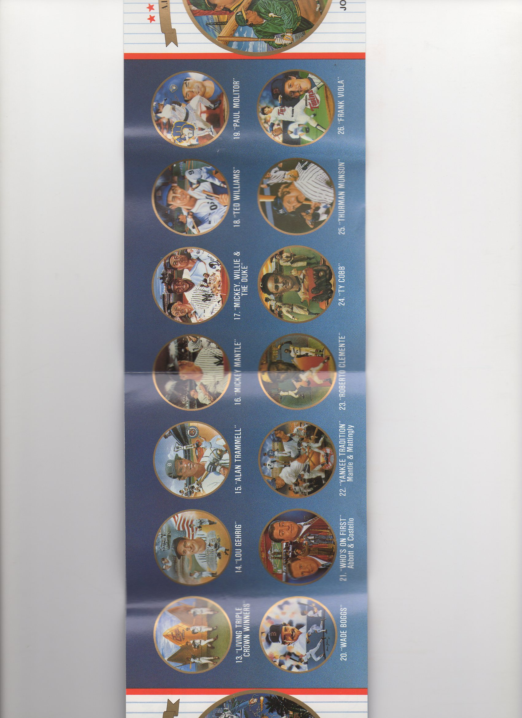 1989 sports impressions 10 page foldout brochure