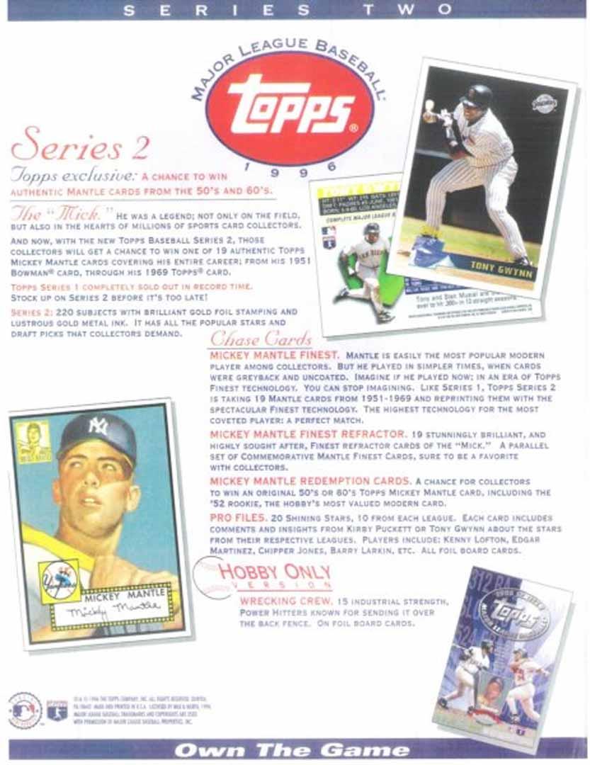 1996 series