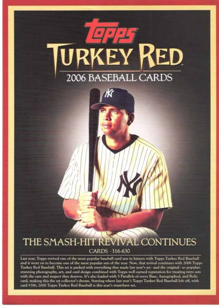2006 topps turkey red