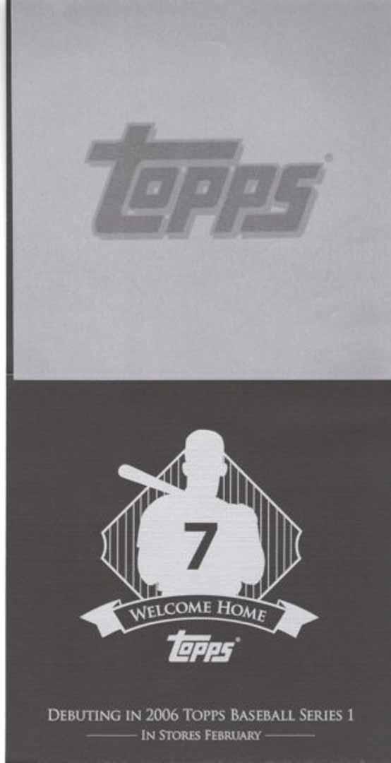 2006 topps baseball series 1