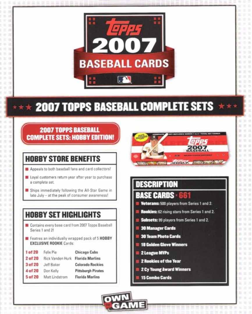 2007 topps