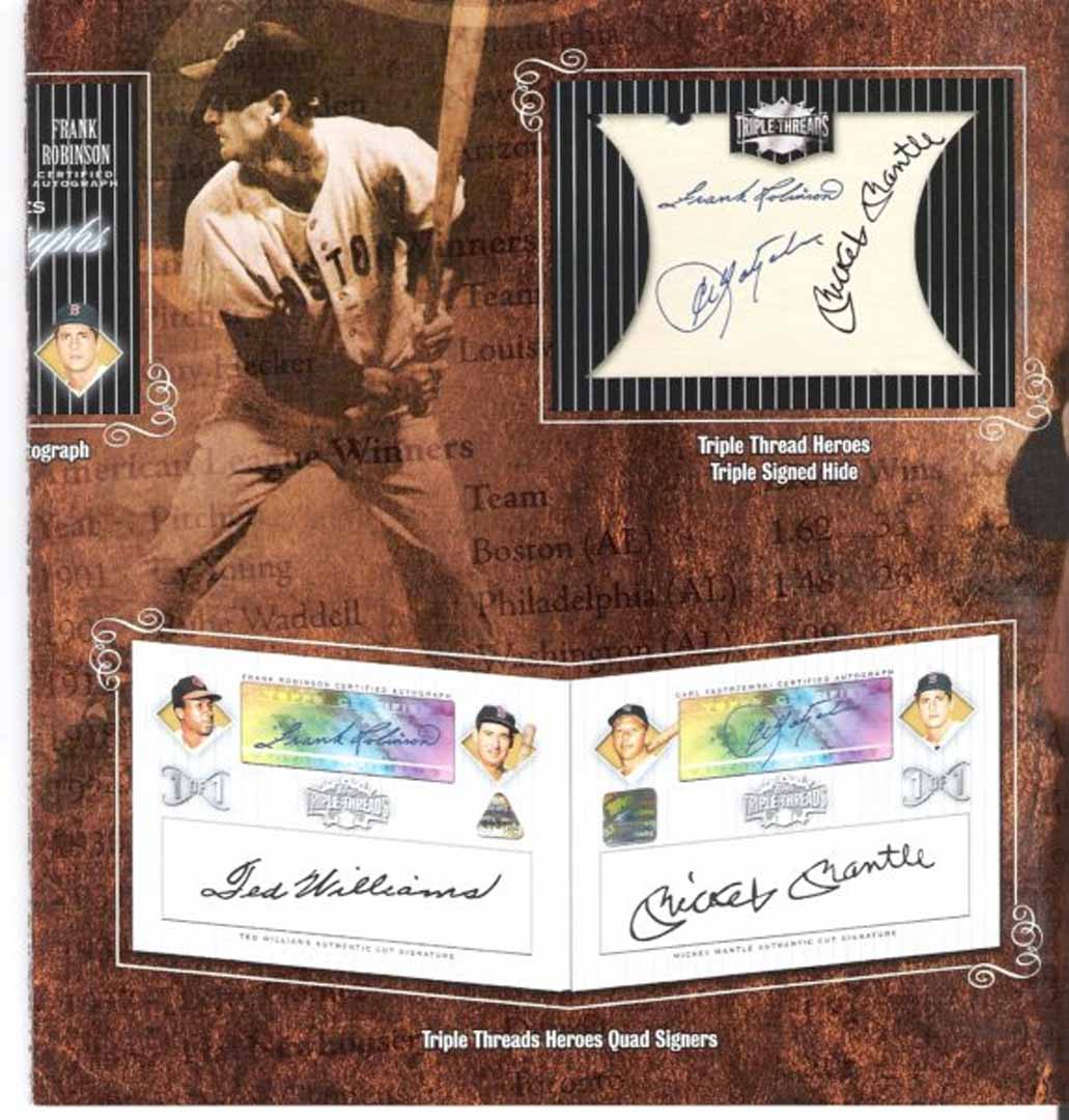 topps triple threads