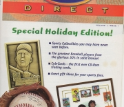 1996 topps direct tsc zone multi page xmas , volume 1 issue 1