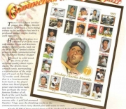 1996 commerative card sheet