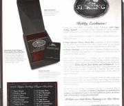 2006 sterling cherry wood box