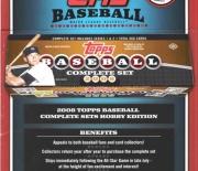 2008 baseball complete sets