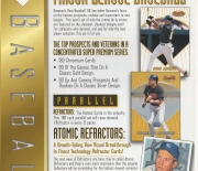 1996 topps/bowman ad slicks