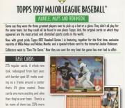 1997 topps dealer ad slick pack