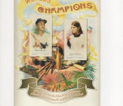 2006 topps allen and ginter 4 page heavy stock foldout