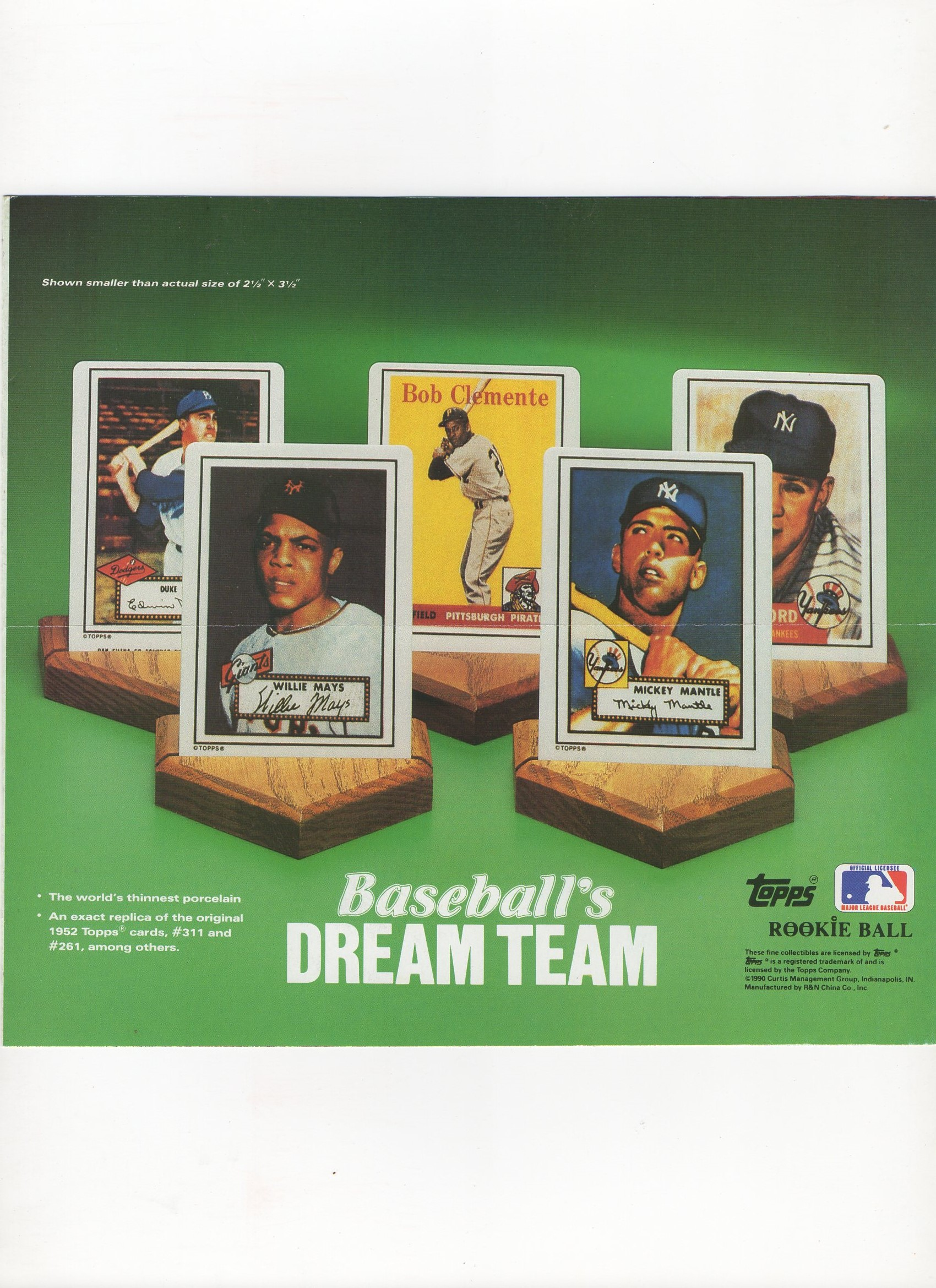 1990/91 topps/hamilton, 4 page flyer