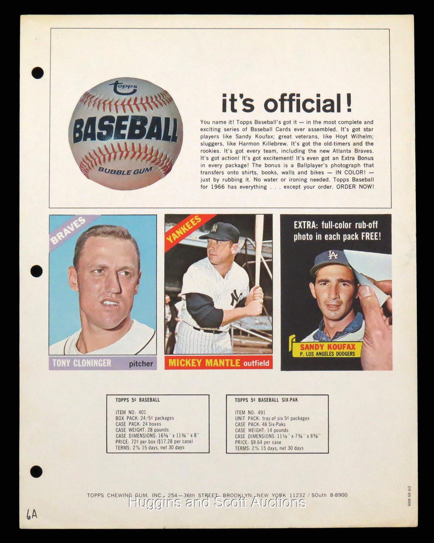 1966 topps flyer