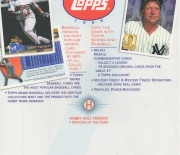 1995 topps series 1, blank back flyer