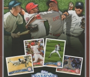 2011 topps promotional folder