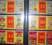 1963 topps valentine foldees