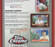 2008 topps heavy stock 4 page foldout
