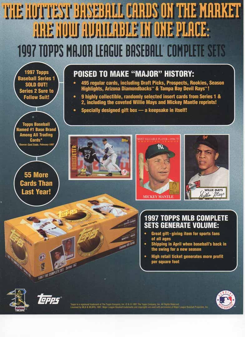 1997 topps flyer