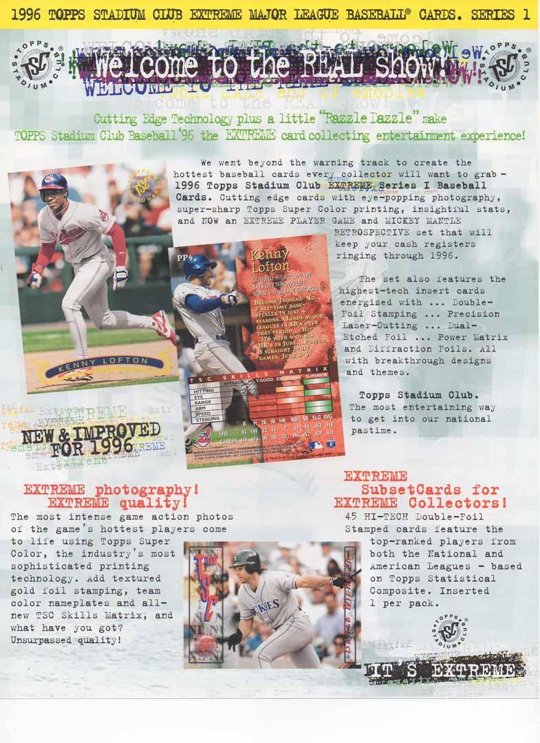 1996 topps