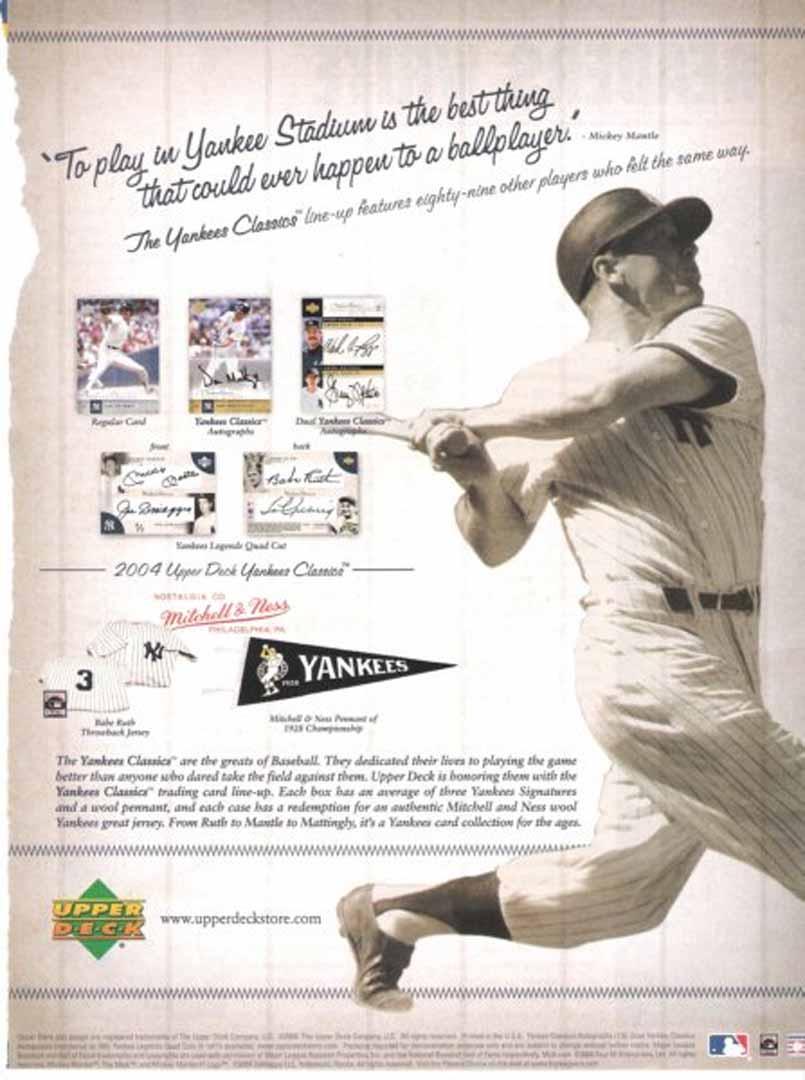 2004 yankee classics December