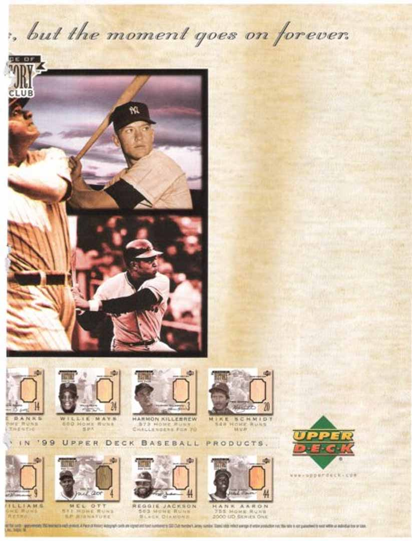 1999 bat cards