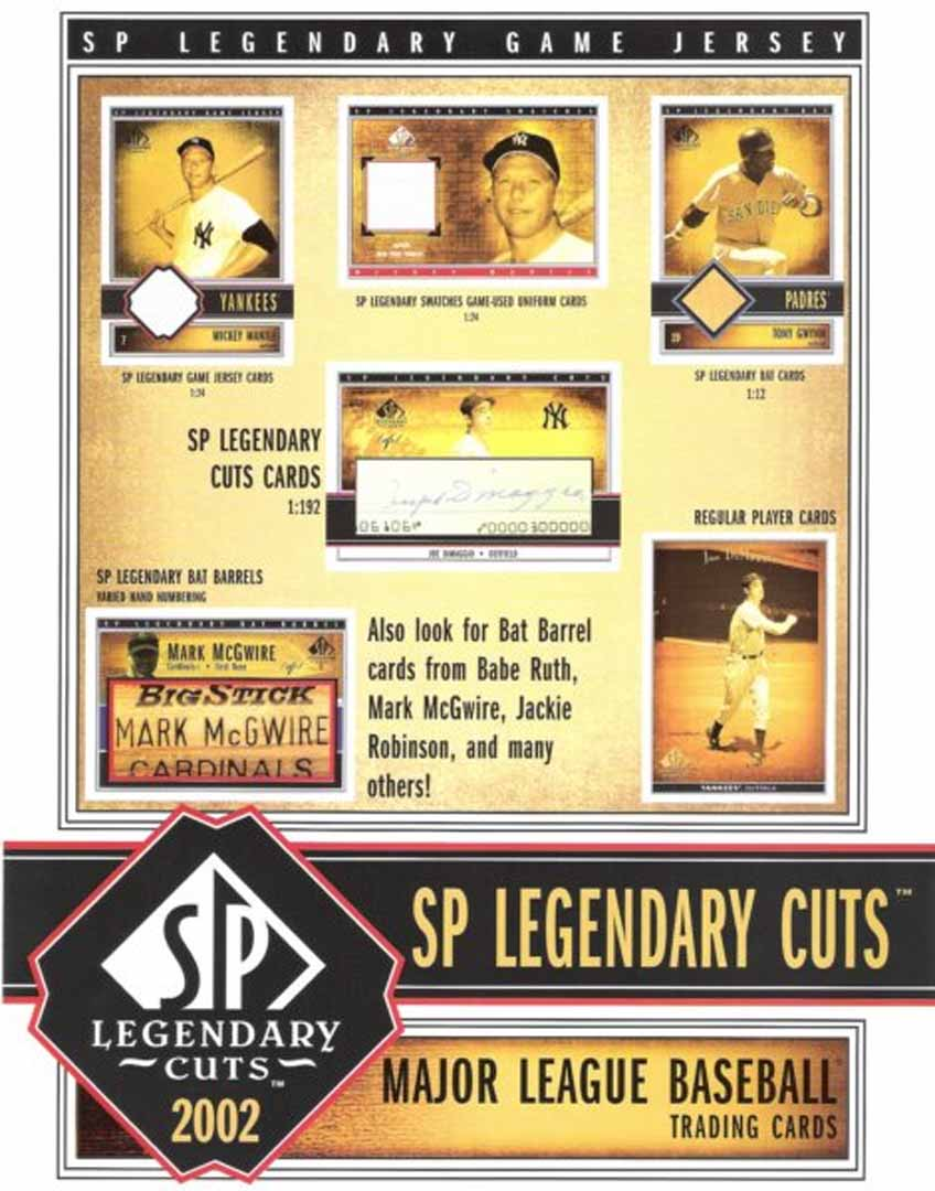 2002 sp legendary cuts