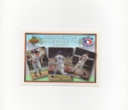 1993 upper deck, heroesof baseball , limited edtion # 05733/11,600