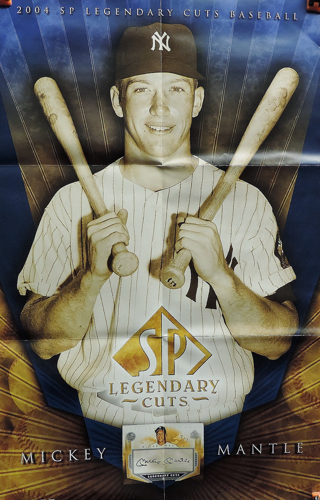 2004 upper deck large poster