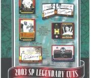 2003 sp legendary cuts