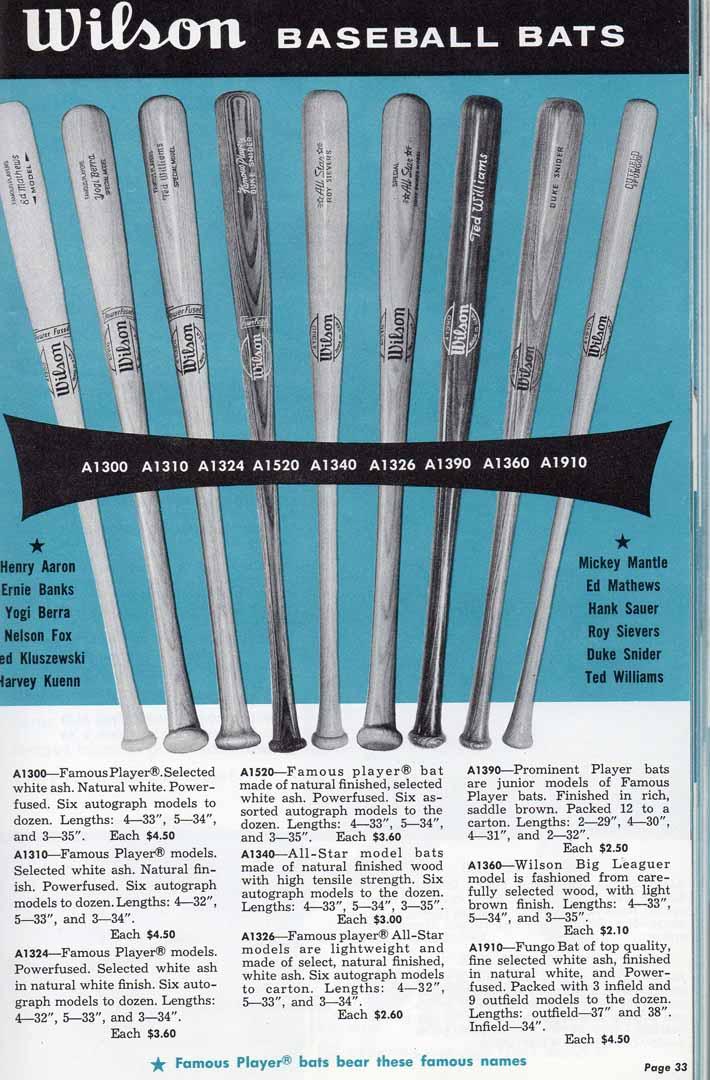 1959 wilson catalog