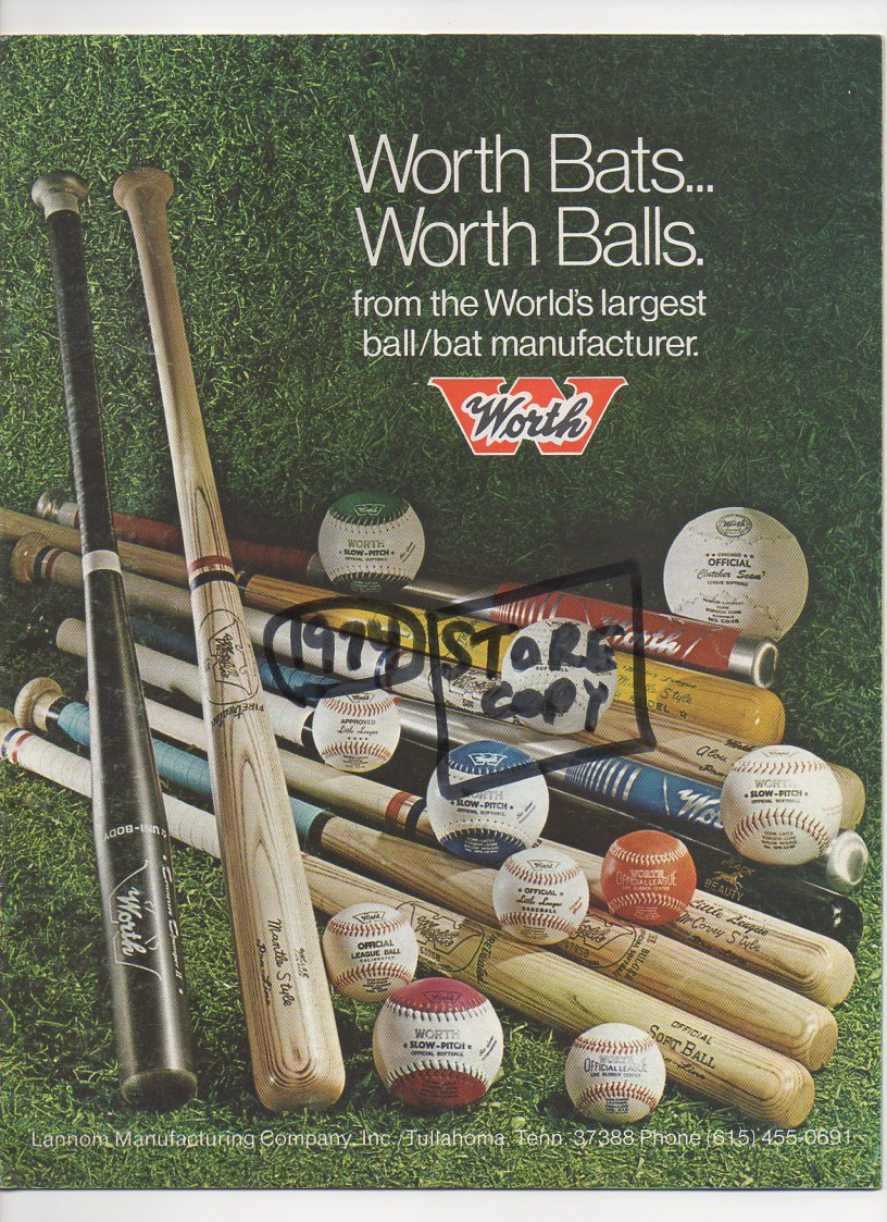 1974 worth catalog